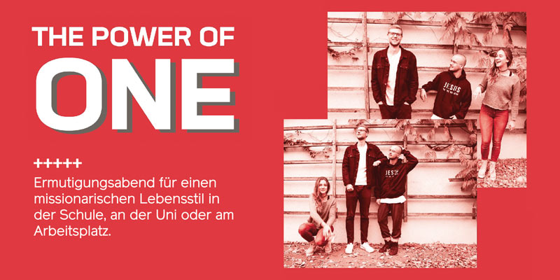 The Power of One - 06.04.2019